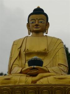 Jesus, that's a big Buddha