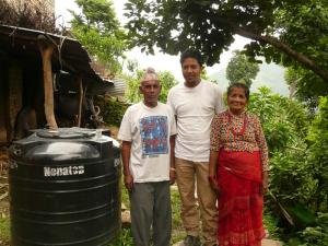 Shyam and his parents